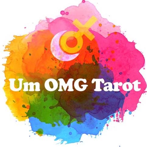 um omg tarot logo